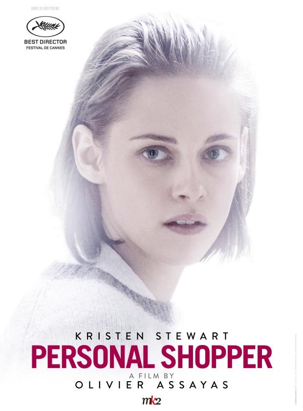 PERSONAL SHOPPER, French poster in English, Kristen Stewart, 2016. ©